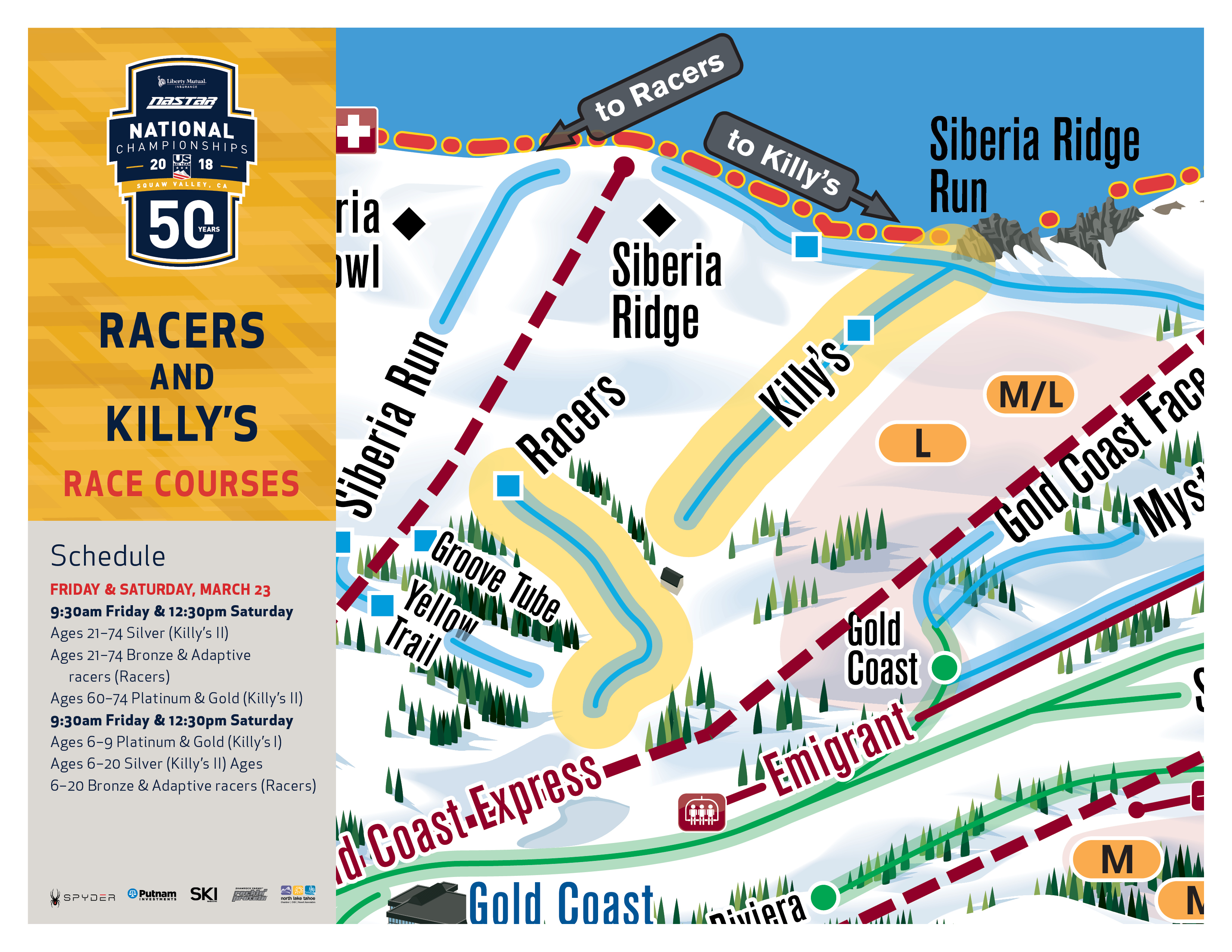 Killy's Race Venues