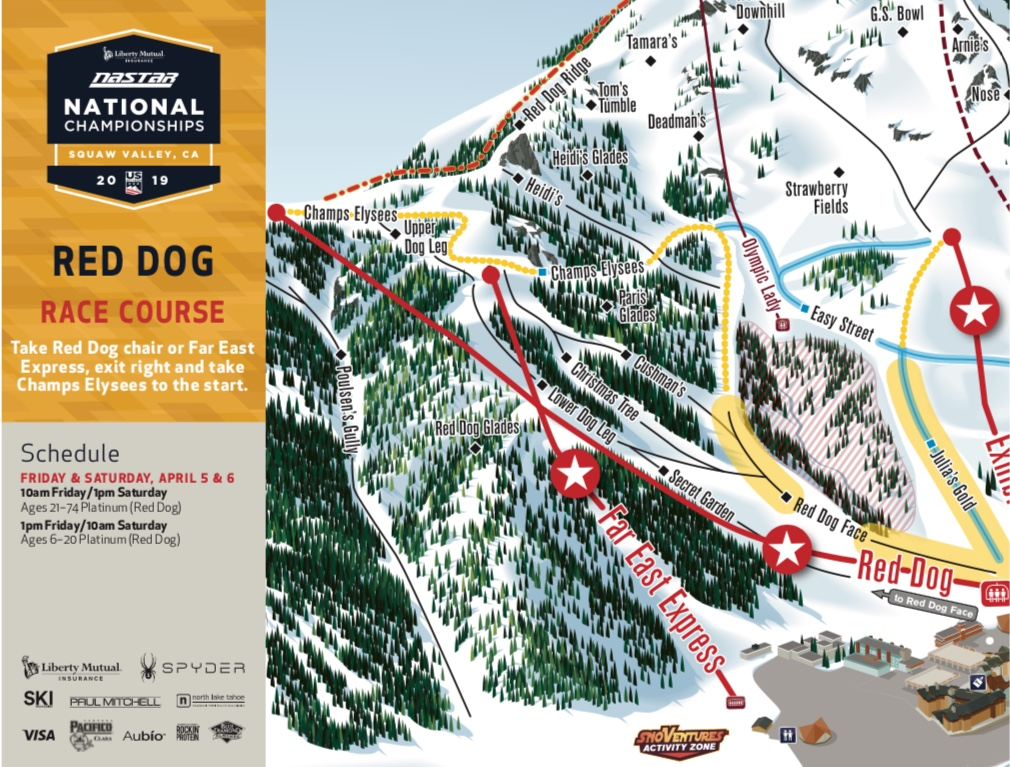 Red Dog Map