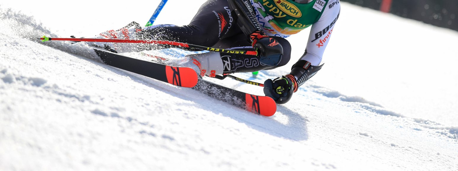 For alpine racers, a future ban on fluorinated wax likely won't make as much of a difference on race day as you might think. Image Credit: GEPA