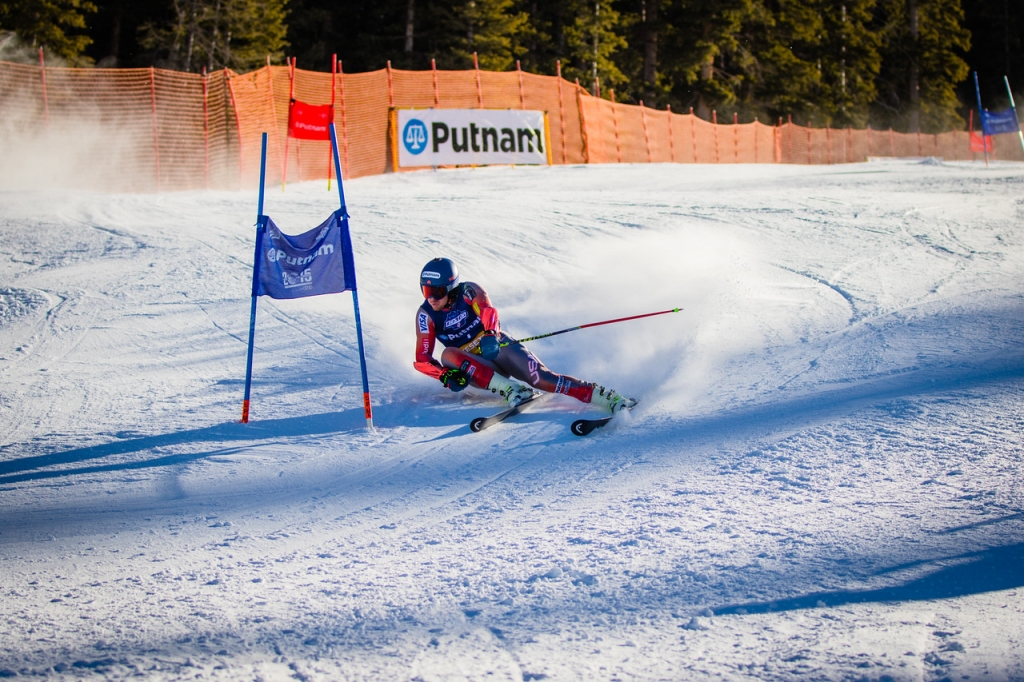 Ted Ligety sets the Pace (Justin Samuels)