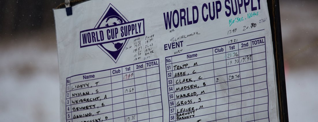 NASTAR National Pacesetting Trials scoreboard