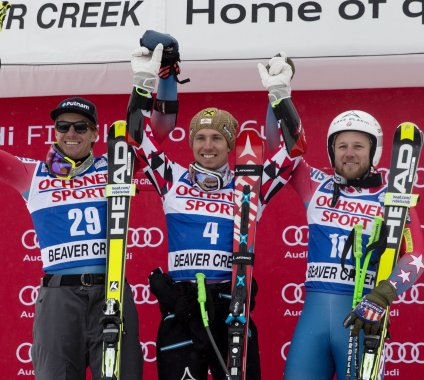 Ted Ligety and Andrew Weibrecht