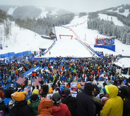 Beaver Creek crowd